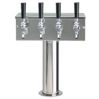 T-Style Tower 4 Faucet