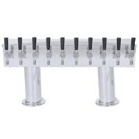 Double Pedestal 10 Faucet