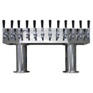 Double Pedestal 12 Faucet