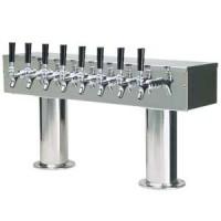 Double Pedestal 8 Faucet
