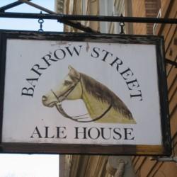 barrow street ale house - dbl pedestal