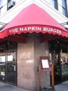 FIVE NAPKINS