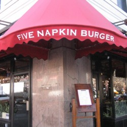 FIVE NAPKINS